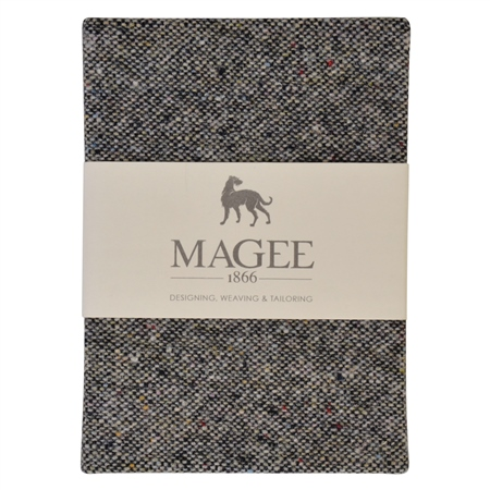 Grey Salt & Pepper Magee Note Book A6  - Click to view a larger image