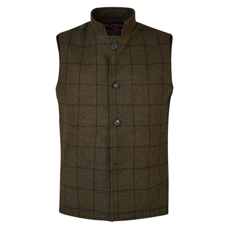 Green Cavan Tailored Fit Gilet  - Click to view a larger image