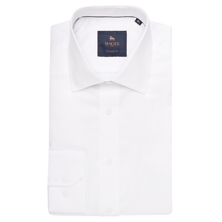 White Altahan Classic Fit Shirt  - Click to view a larger image