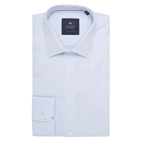Blue Altahan Classic Fit Shirt  - Click to view a larger image
