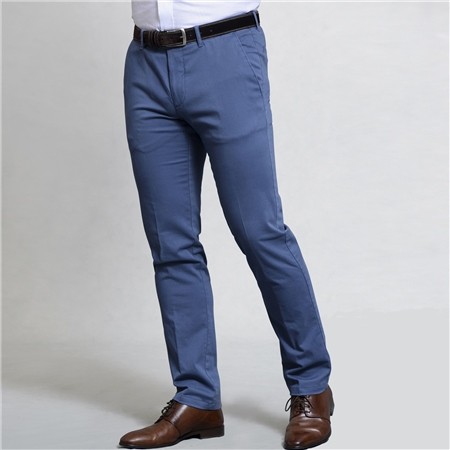 Blue Falcaragh Tailored Fit Trousers  - Click to view a larger image