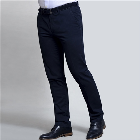 Navy Falcaragh Tailored Fit Trousers  - Click to view a larger image
