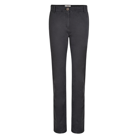 Grey Sandy Washed Tailored Fit Trousers  - Click to view a larger image