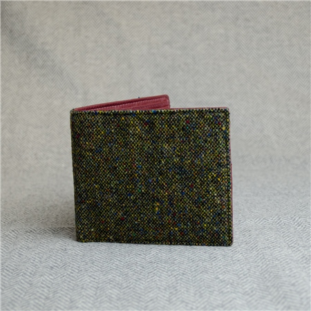 Green Salt & Pepper Magee Mens Wallet  - Click to view a larger image