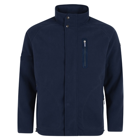 Navy Birra Technical Weatherproof Fleece  - Click to view a larger image