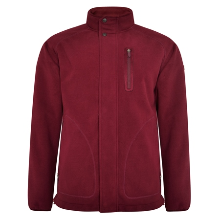 Maroon Birra Technical Weatherproof Fleece  - Click to view a larger image