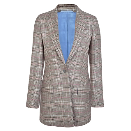 Multicoloured Moyne Donegal Tweed Jacket  - Click to view a larger image