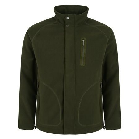 Olive Birra Technical Weatherproof Fleece  - Click to view a larger image