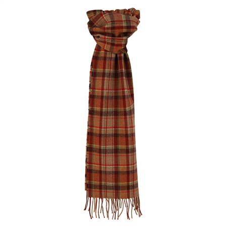 Multicoloured Plaid Scarf  - Click to view a larger image