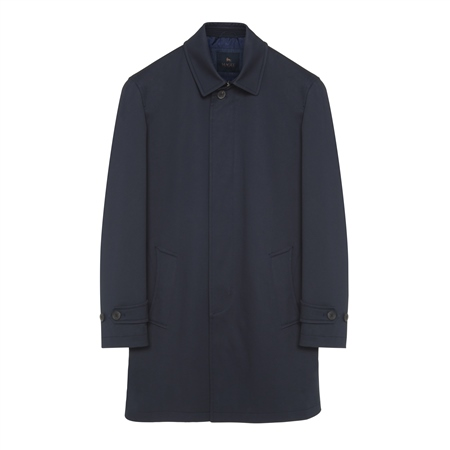 Navy Muckross Mac Raincoat  - Click to view a larger image