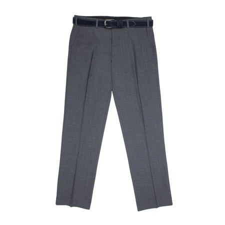 Grey Balloor Classic Fit Trousers  - Click to view a larger image