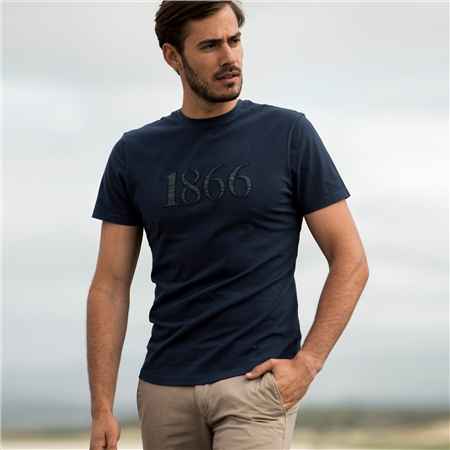 Navy Clogher 1866 T-Shirt  - Click to view a larger image