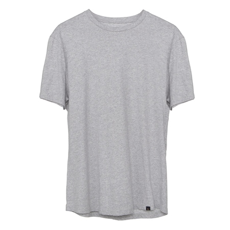 Grey Clogher Plain T-Shirt  - Click to view a larger image