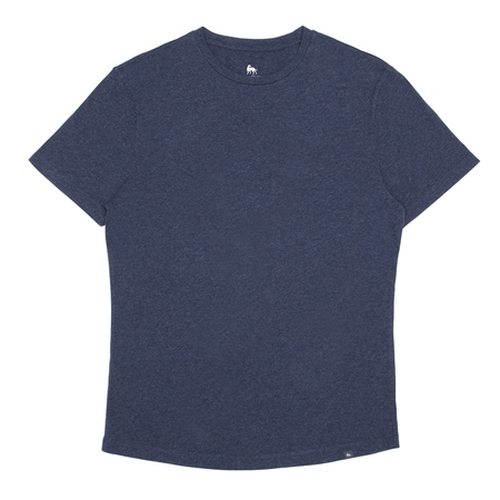 Navy Clogher Plain T-Shirt  - Click to view a larger image