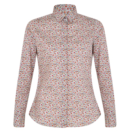 Multicoloured Hannah Liberty Print Classic Fit Shirt  - Click to view a larger image