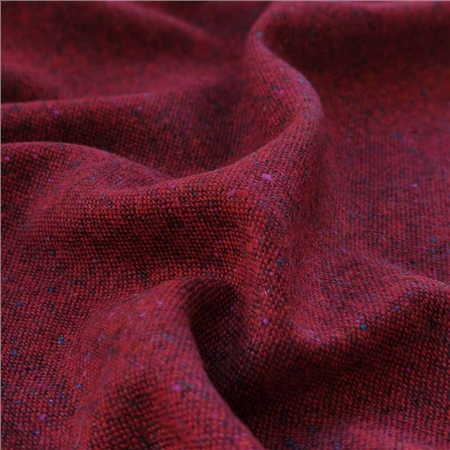 Eske - Red Salt & Pepper Flecked Donegal Tweed  - Click to view a larger image