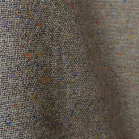 Limited Edition - Multicoloured Linen Blend Salt & Pepper Tweed  - Click to view a larger image
