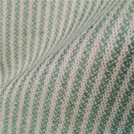 Limited Edition - Green Pastel Striped Tweed   - Click to view a larger image