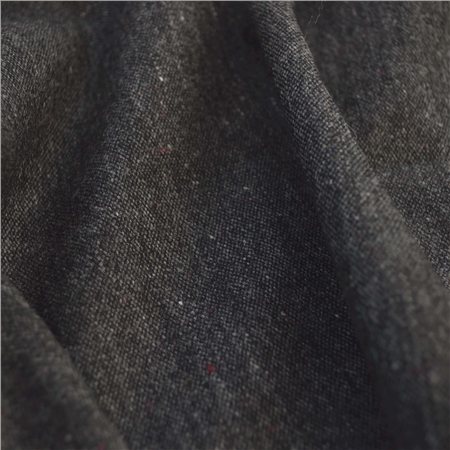 Glen - Charcoal Grey Donegal Tweed  - Click to view a larger image