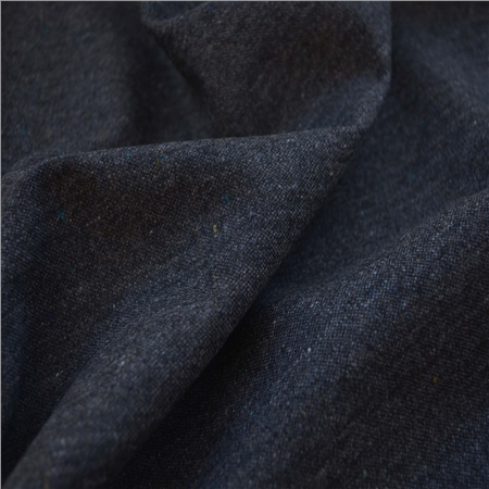 Glen - Navy & Blue Donegal Tweed  - Click to view a larger image