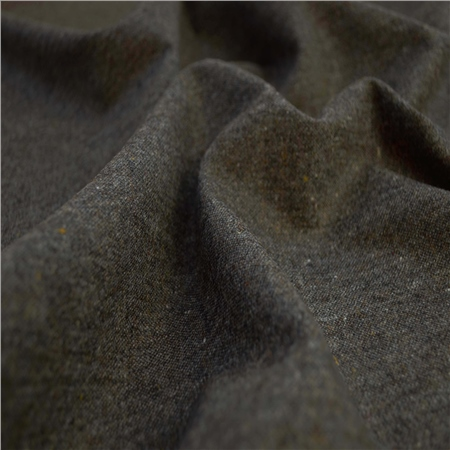 Glen -  Grey & Brown Donegal Tweed   - Click to view a larger image