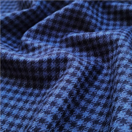 Rockall - Navy & Blue Houndstooth  - Click to view a larger image