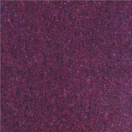 Limited Edition - Burgundy Salt & Pepper Donegal Tweed  - Click to view a larger image