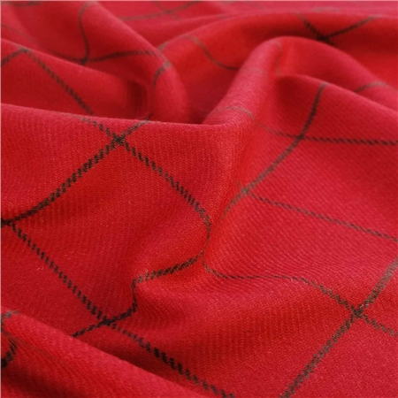 Limited Edition - Red Check Donegal Tweed  - Click to view a larger image