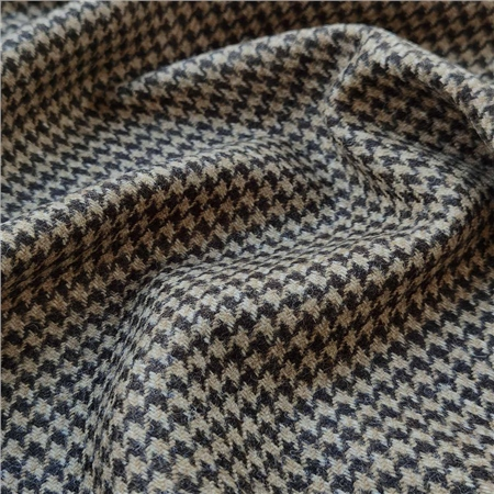 Rockall - Brown Houndstooth Donegal Tweed  - Click to view a larger image