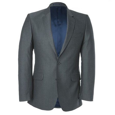 Grey Mix & Match 3-Piece Suit Jacket  - Click to view a larger image