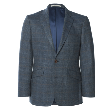 Blue Lightweight Wool Blazer   - Click to view a larger image