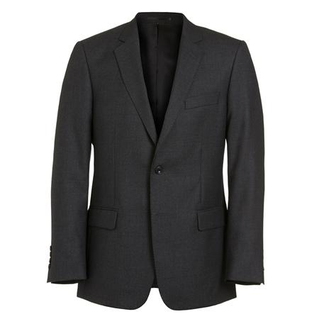 4853d37fd2d Grey Wool Mix   Match Regular Fit Travel Suit Jacket - 38S