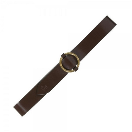 kerry chestnut brown leather belt seasonal collections