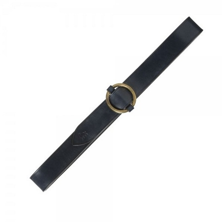 Kerry Navy Leather Belt