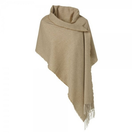 Magee 1866 - Classic Camel & White Small Pashmina