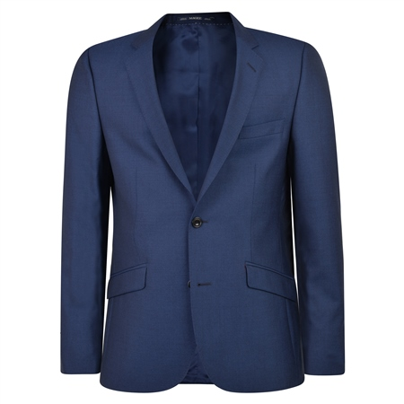 Cobalt Blue Travel Mix & Match 3-Piece Suit Jacket  - Click to view a larger image