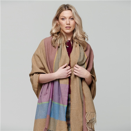 Tory - Large Pashmina   - Click to view a larger image