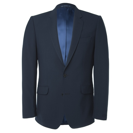 Navy Travel Mix & Match 3 Piece Suit Jacket  - Click to view a larger image