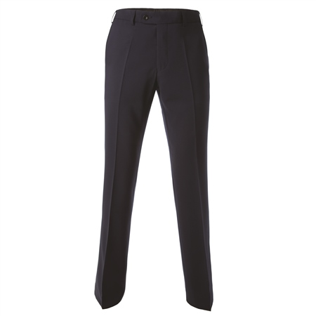 Navy Travel Mix & Match 3 Piece Suit Trouser  - Click to view a larger image