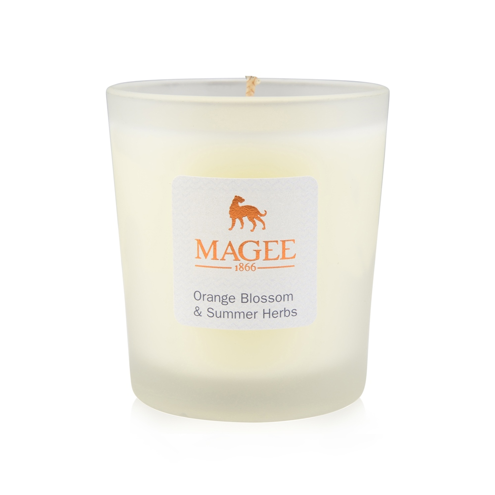 Orange Blossom & Summer Herbs Natural Wax Candle 1