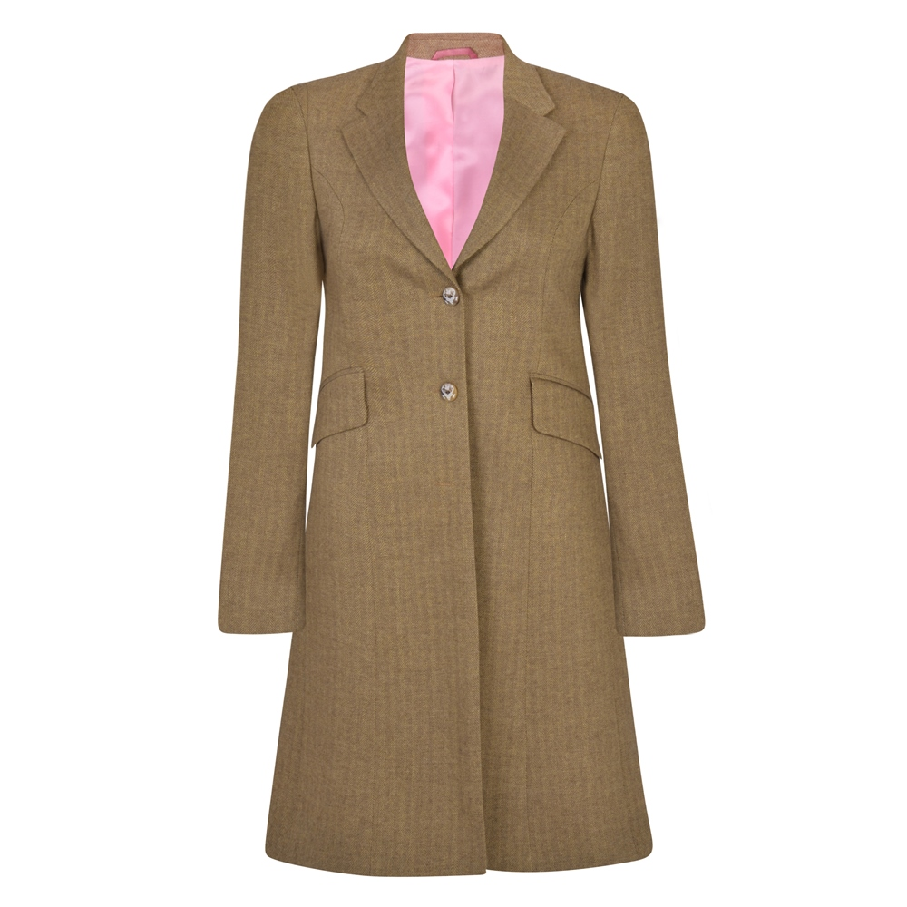 1940s Coats & Jackets Fashion History Magee 1866 Oat Grace Salt  Pepper Donegal Tweed Jacket £365.00 AT vintagedancer.com