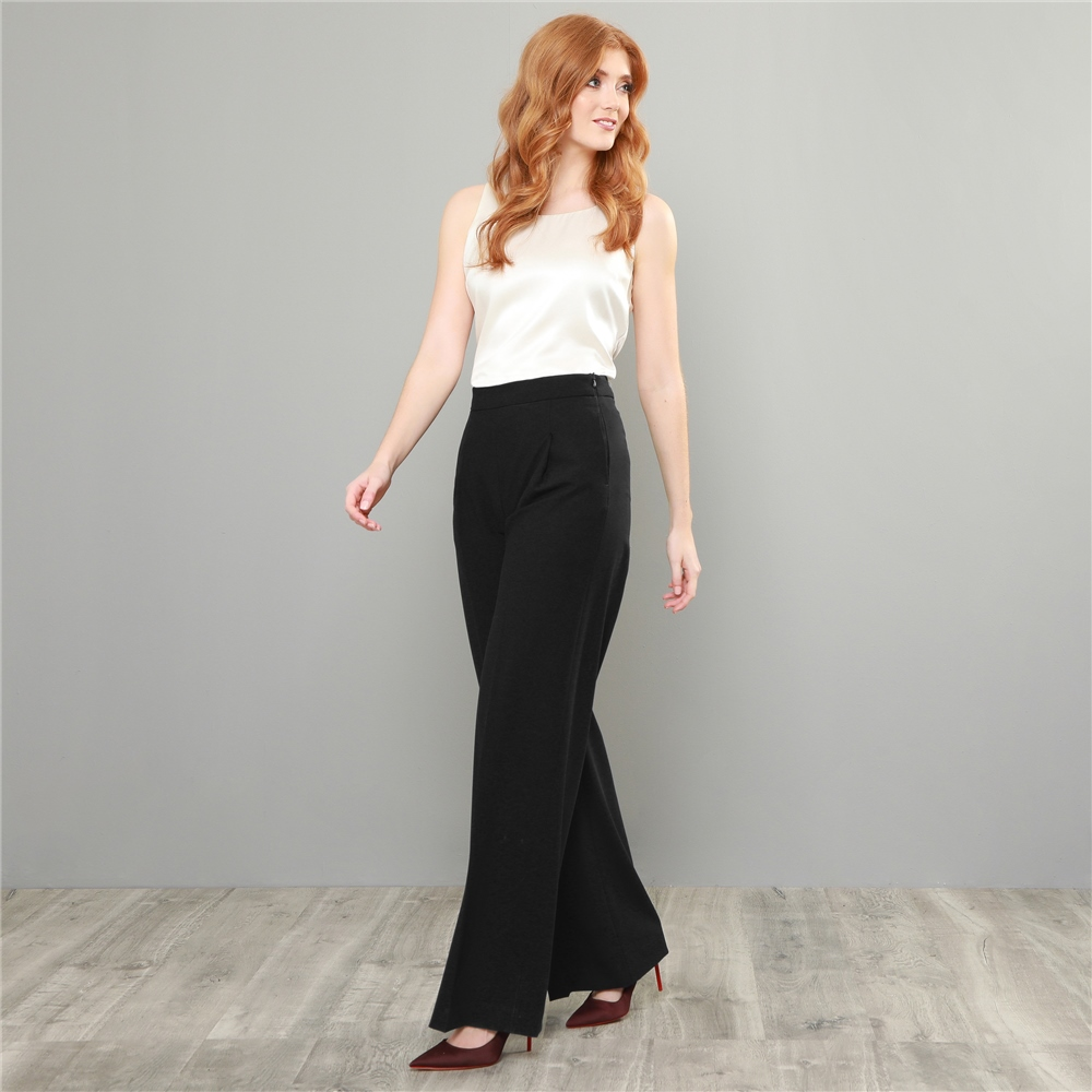 b048eb047e4597 Black Willow Wide Leg Trousers | Seasonal collections from Magee1866