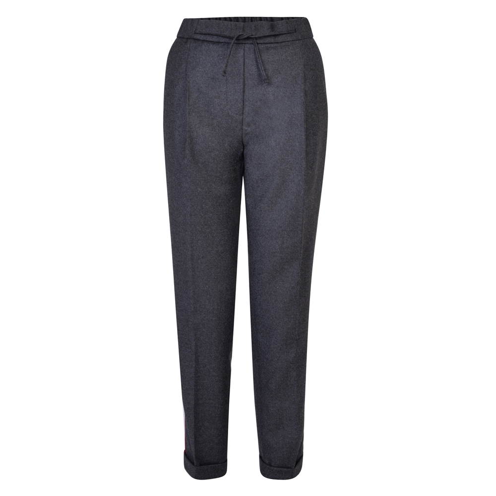 Magee 1866 Grey Tina Wool Classic Fit Trousers