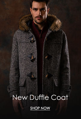 Donegal Tweed Duffle Coat