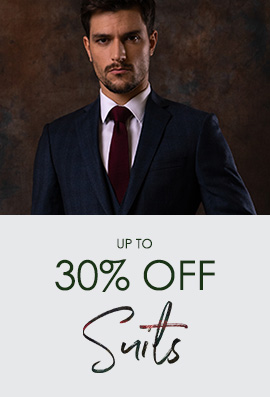up to 30% OFF Suits