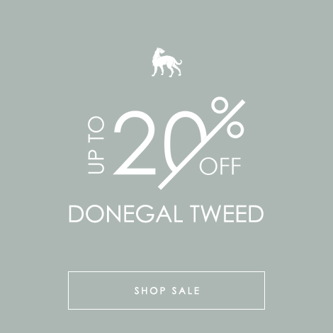 Donegal Tweed 20% OFF