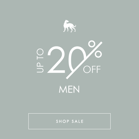 Men's SS20 Sale 20% OFF
