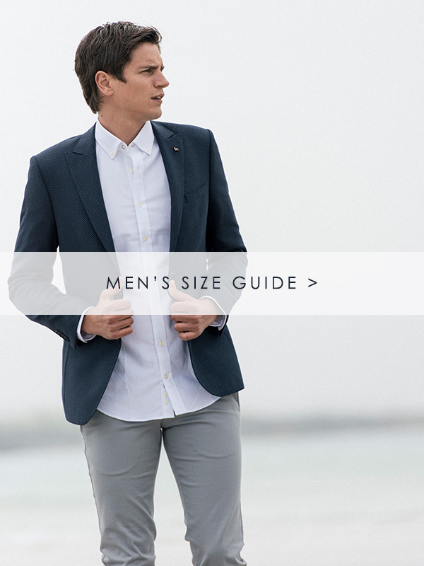 Men's Size Guide - Magee 1866