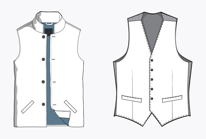 Magee 1866 gilet and waistcoats size guide